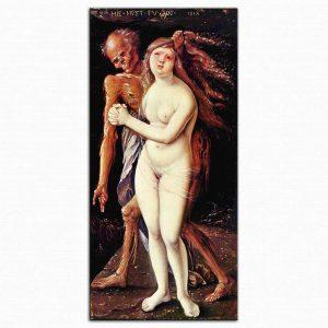 Hans Baldung Grien Genç Kız ve ölüm