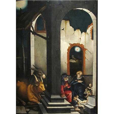 Hans Baldung Grien İsa'nın Doğumu