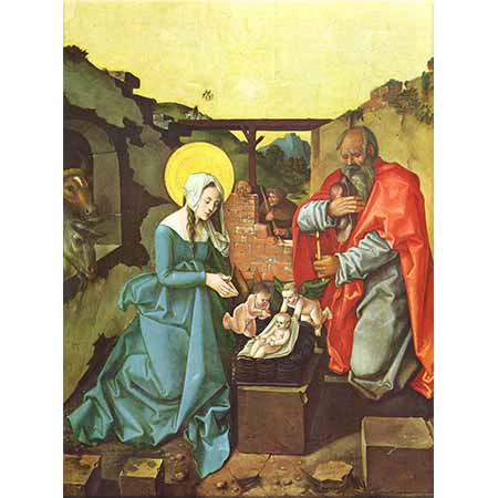 Hans Baldung Grien İsa'nın Doğumunda