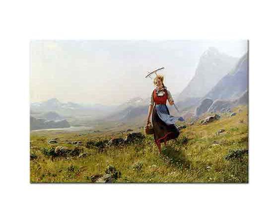 Hans Dahl Dağlarda Yürüyüş
