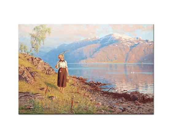 Hans Dahl Fiyortlarda Manzara