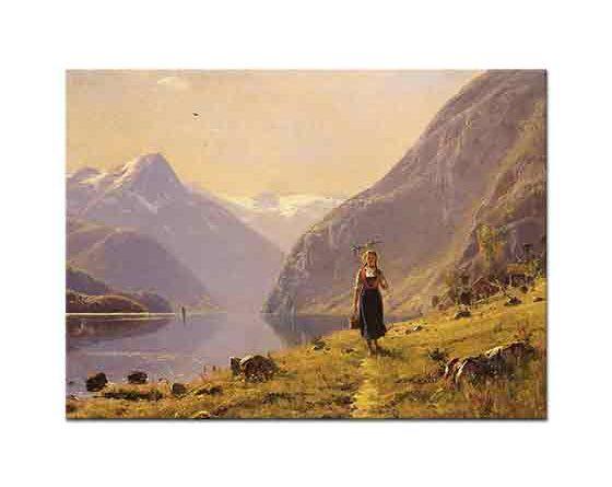Hans Dahl Fiyortta Yürüyüş Manzarası