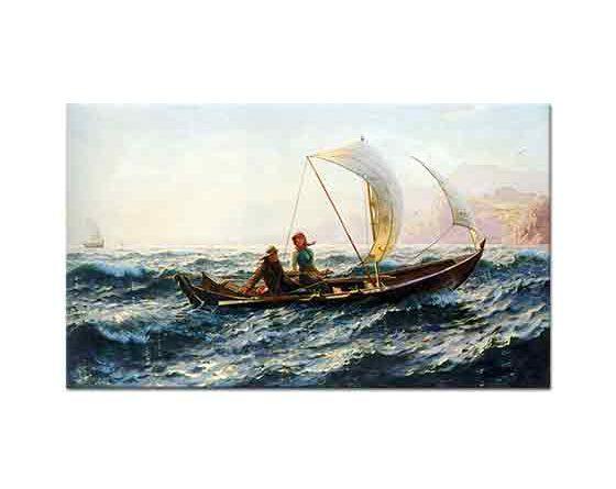 Hans Dahl Rüzgarlı Yolculuk