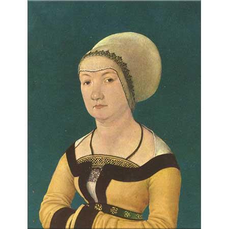 Hans Holbein the Elder Bir Kadının Portresi