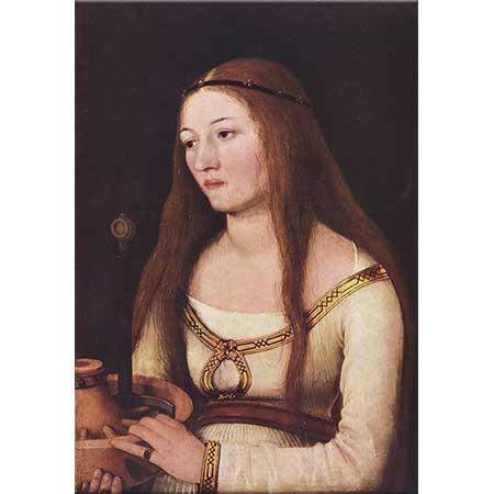 Hans Holbein the Elder Katherina Schwarz'ın Portresi
