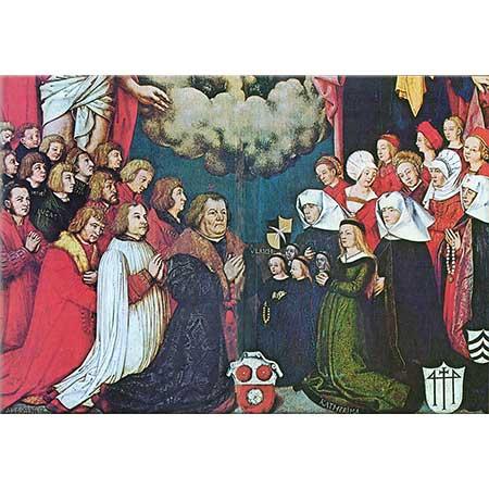 Hans Holbein the Elder Ulrich Schwarz ve Ailesi