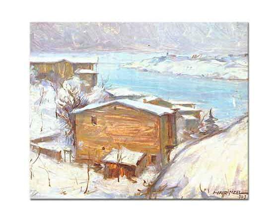 Hayri Çizel Boğaziçinde Kış Manzarası