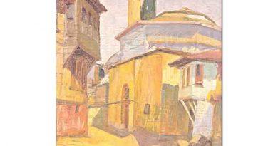 Hayri Çizel Bursa Cami Peyzajı