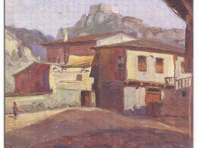 Hayri Çizel Eski Ankara Evleri Peyzaj
