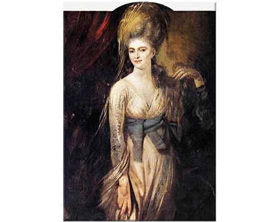 Heinrich Füssli Bir Genç Kadının Portresi