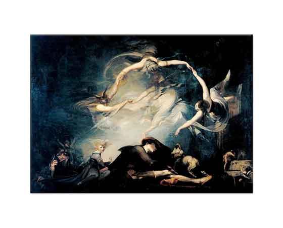 Heinrich Füssli Çobanın Rüyası