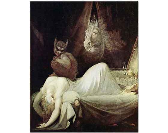 Heinrich Füssli Gece Ziyareti