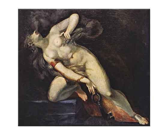 Heinrich Füssli Ölümden Sonra Takip Eden Günah