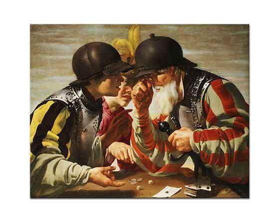 Hendrick ter Brugghen Kart Oyuncuları