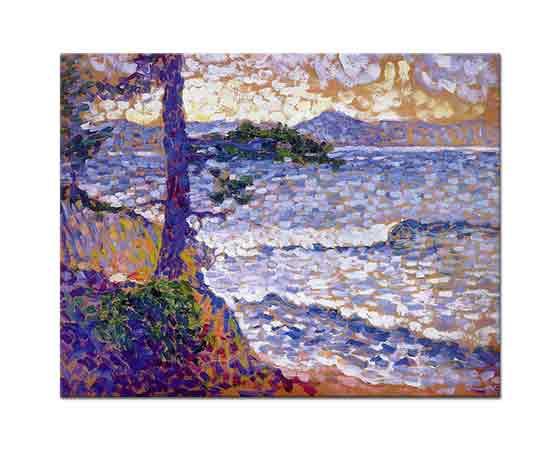 Henri Edmond Cross Akdeniz Kıyısı