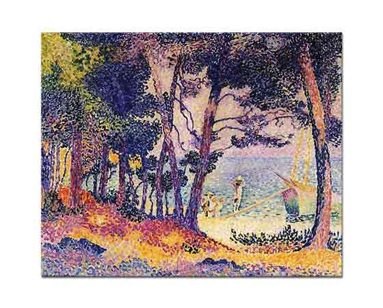 Henri Edmond Cross Çam Ağaçları