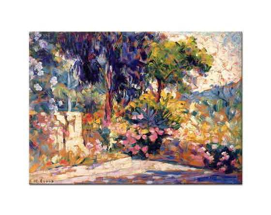 Henri Edmond Cross Çiçek Açan Ağaçlar
