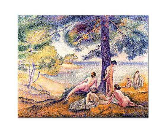 Henri Edmond Cross Gölgelenen Kadınlar