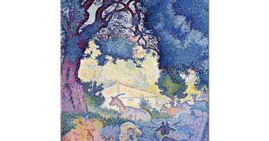 Henri Edmond Cross Keçiler ve Göl