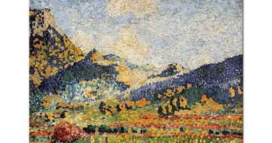 Henri Edmond Cross Mauresques Tepeleri