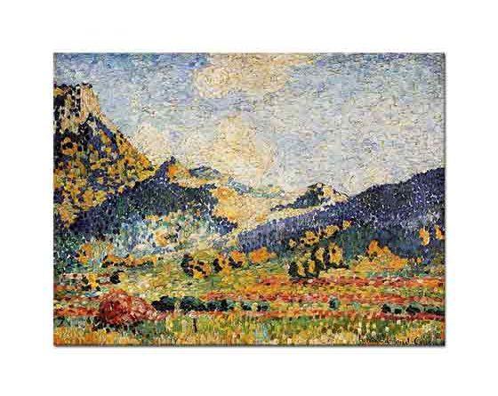 Henri Edmond Cross Mauresques Tepeleri