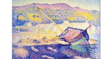 Henri Edmond Cross Mavi Kayık