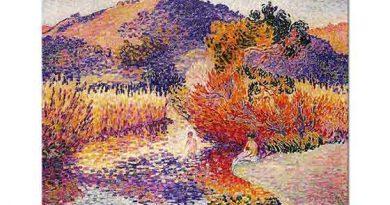 Henri Edmond Cross Nehir Manzarası