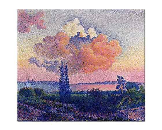 Henri Edmond Cross Pembe Bulut