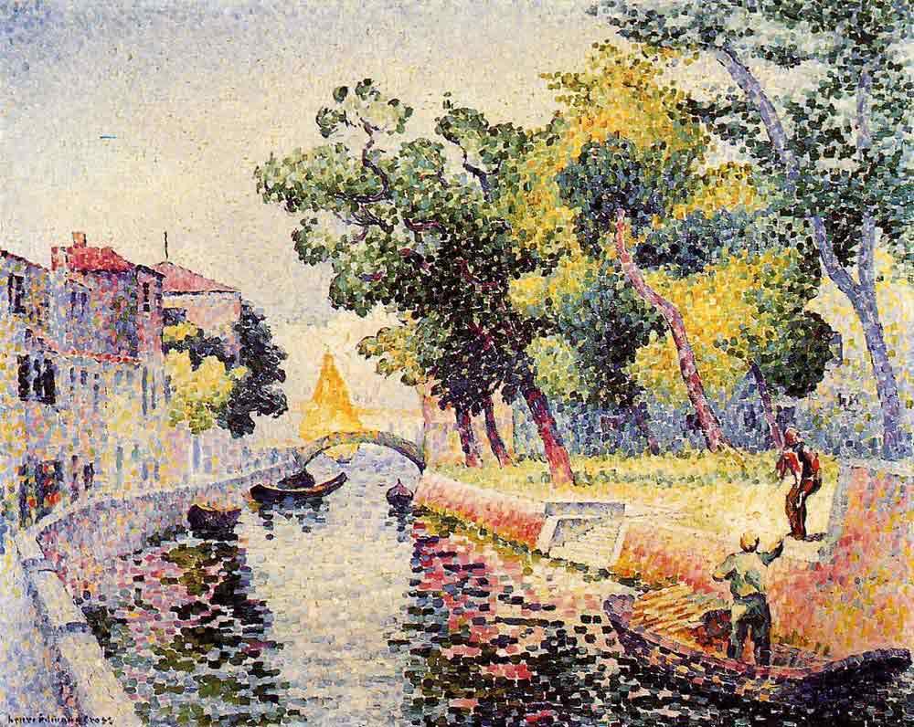 Henri Edmond Cross Ponte San Trovaso
