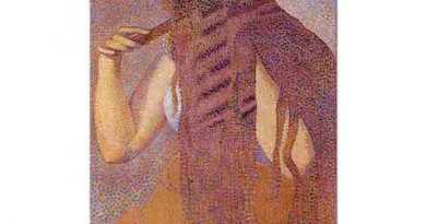Henri Edmond Cross Saçlarını Tarayan Kız