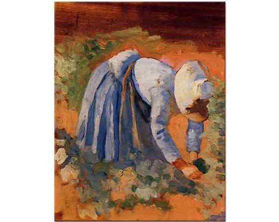 Henri Edmond Cross Üzüm Toplayan Kadın