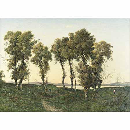 Henri Joseph Harpignies Ağaçlar
