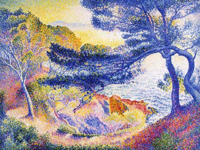 Henri Edmond Cross Layet Koyu