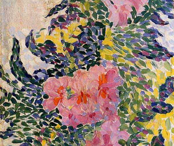 Henri Edmond Cross Çiçekler