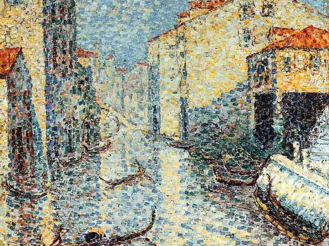 Henri Edmond Cross Venedik Kanalı