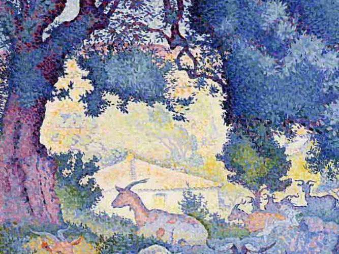 Henri Edmond Cross Keçiler