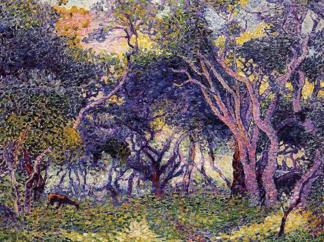 Henri Edmond Cross Ağaçların içinden