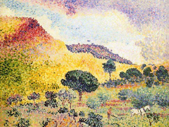 Henri Edmond Cross Manzara