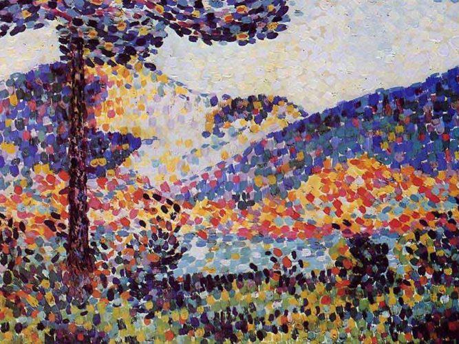 Henri Edmond Cross Manzara ve Dağlar