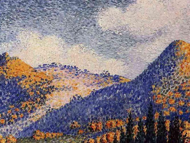 Henri Edmond Cross Küçük Maresque Dağları