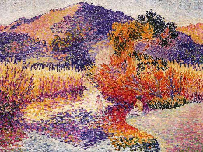 Henri Edmond Cross Nehir