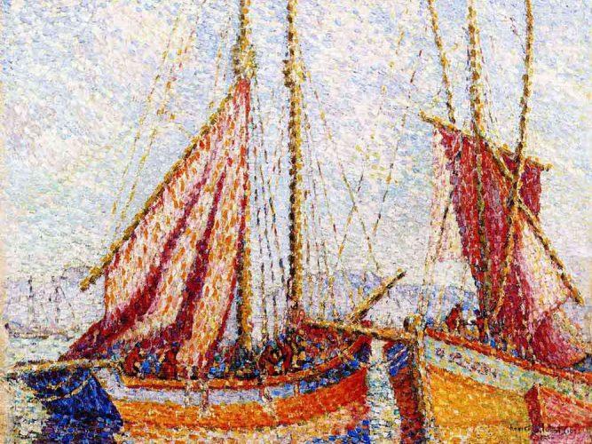 Henri Edmond Cross Yelkenliler