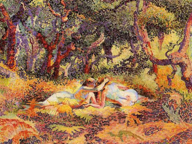 Henri Edmond Cross Ormandaki Kadınlar