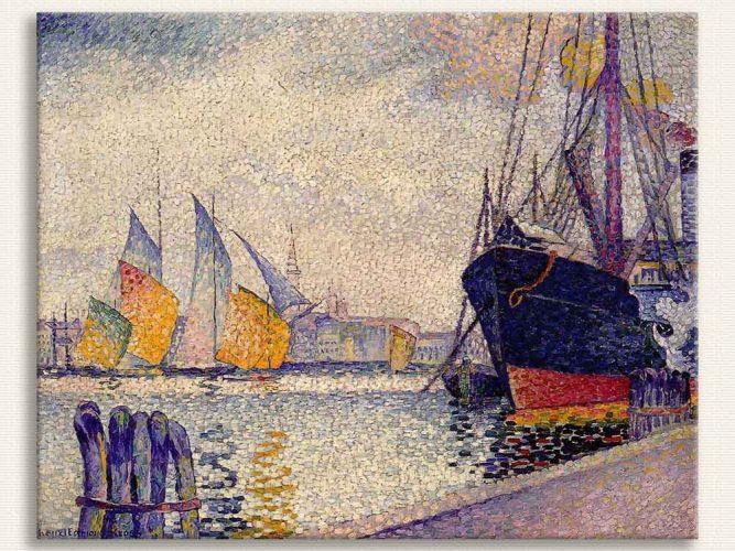 Henri Edmond Cross Guidecca Kanalı Venedik