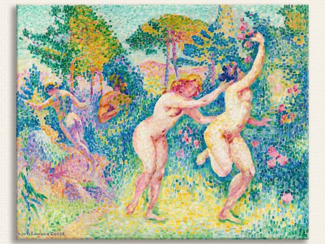 Henri Edmond Cross Uçan Periler
