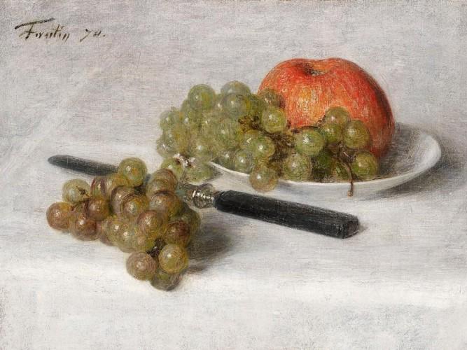 Henri Fantin Latour Meyveli Natürmort
