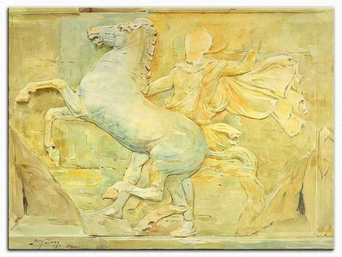 Henry Bacon Partheon Tapınağından