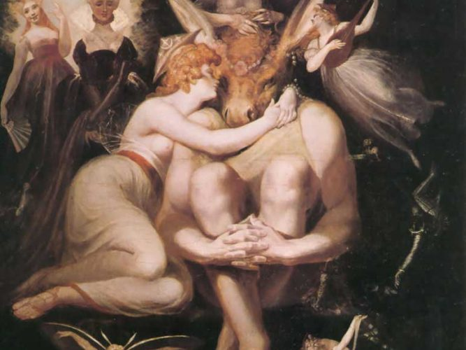 Heinrich Füssli Titania ve Oberon