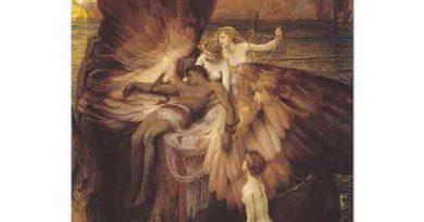Herbert Draper Icarus için Ağıt