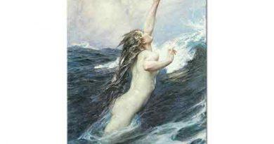 Herbert Draper Uçan Balık